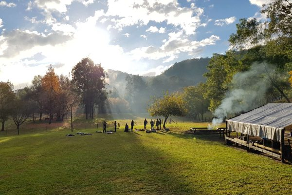 Year 9's Real Authentic Bush Camp at Somerset