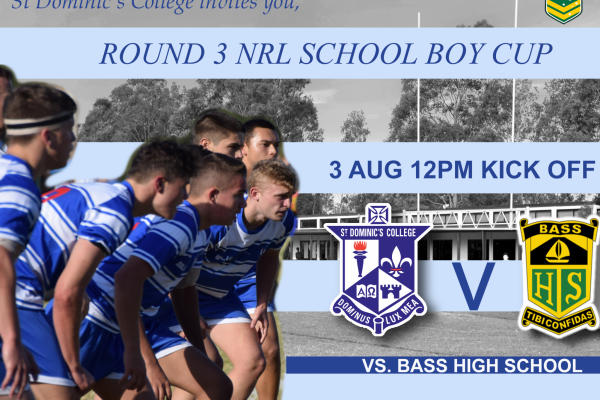 Round 3 NRL School Boy Cup 2018