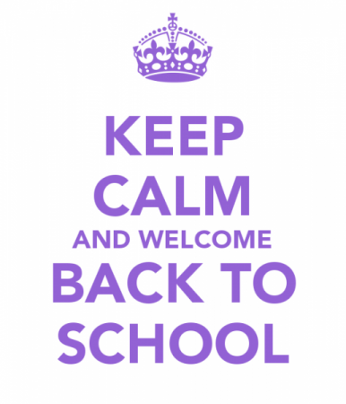 Keep-Calm-And-Welcome-Back-To-School[1] - St Dominic's College - St  Dominic's College