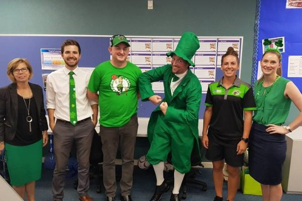 St Dominic's College Celebrates St Patrick's Day