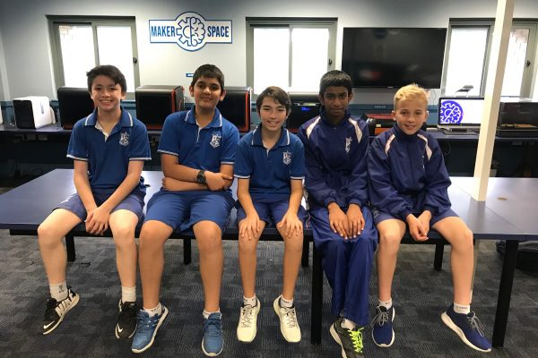 'Dominus' – The Inaugural F1 In-Schools Team for St Dominic's College