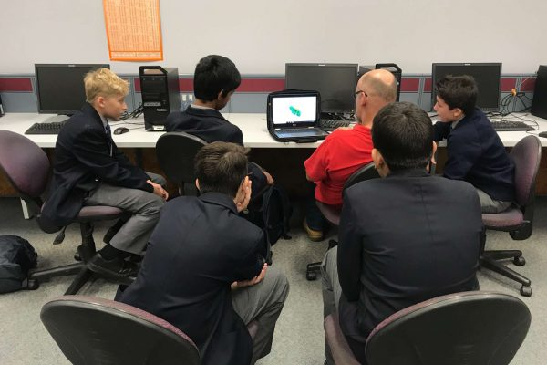 F1 In-Schools Team TAFE Visit
