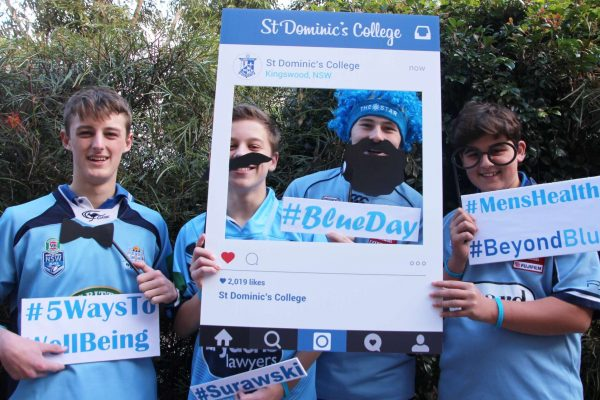 Support Beyond Blue Day at St Dominic's College