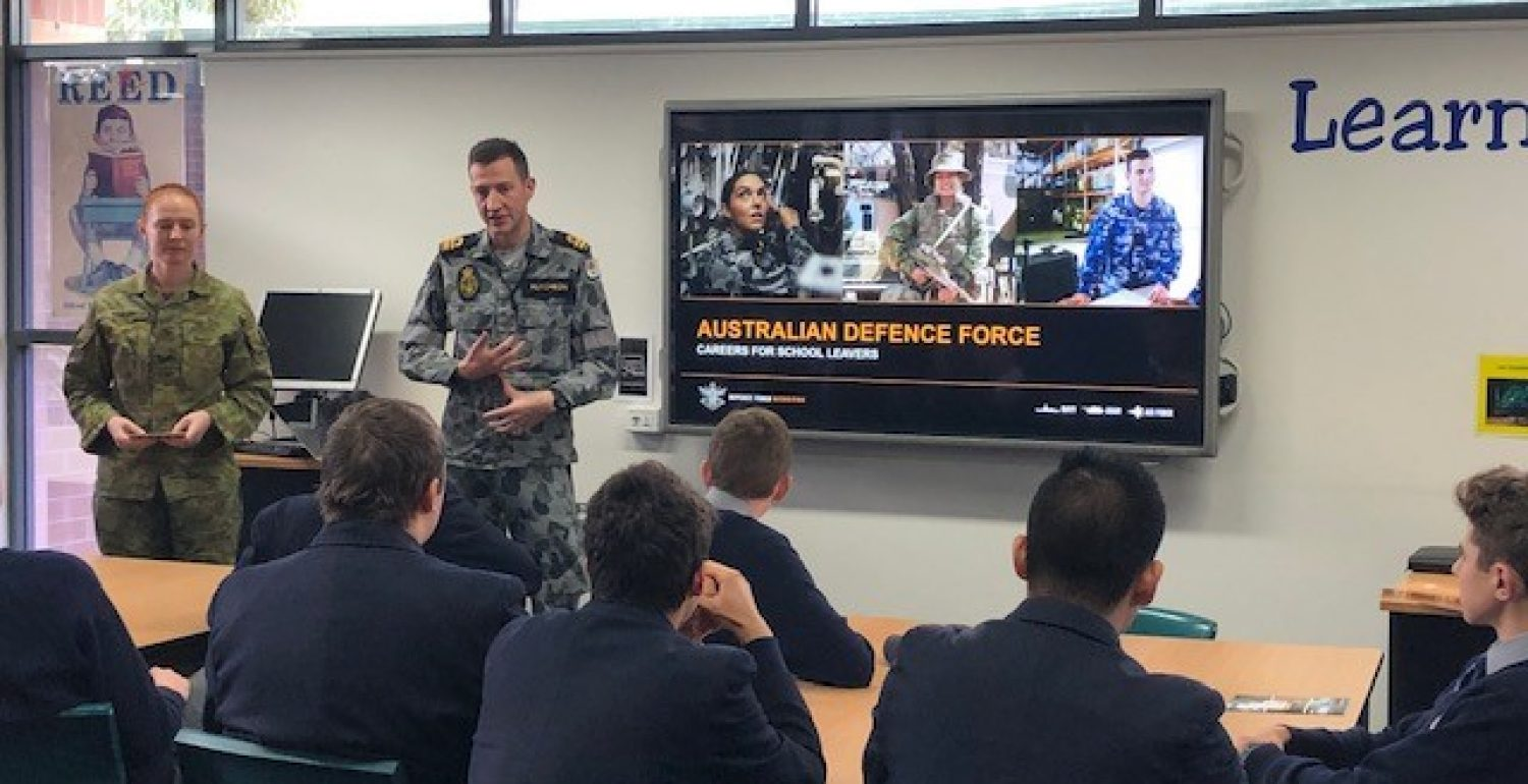 Australian Defence Force Visit