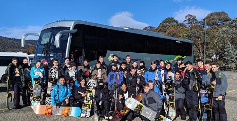 College Ski Trip