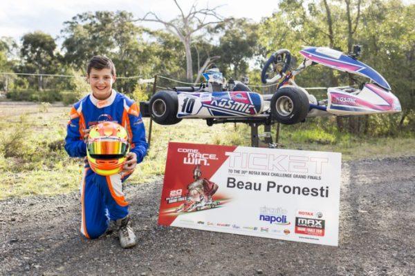 Congratulations Beau Pronesti!