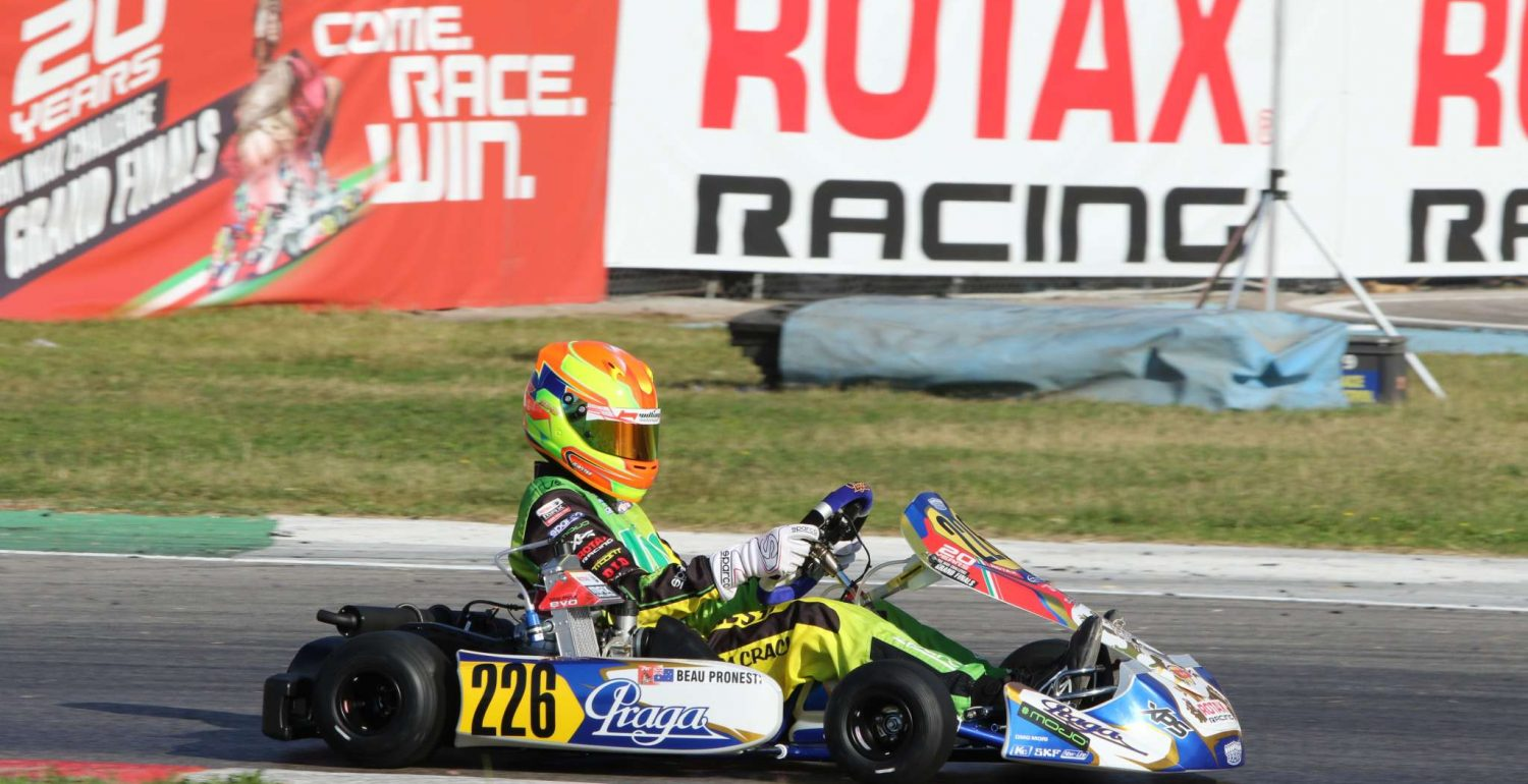 Beau Pronesti – Rotax Max Challenge World Finals