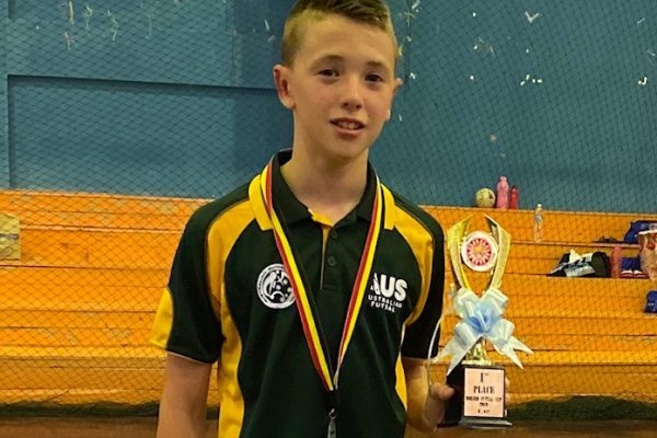 Congratulations Year 7 Student Lincoln McConnell