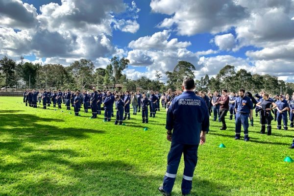 St Dominic's College Plays Host to Ambulance NSW