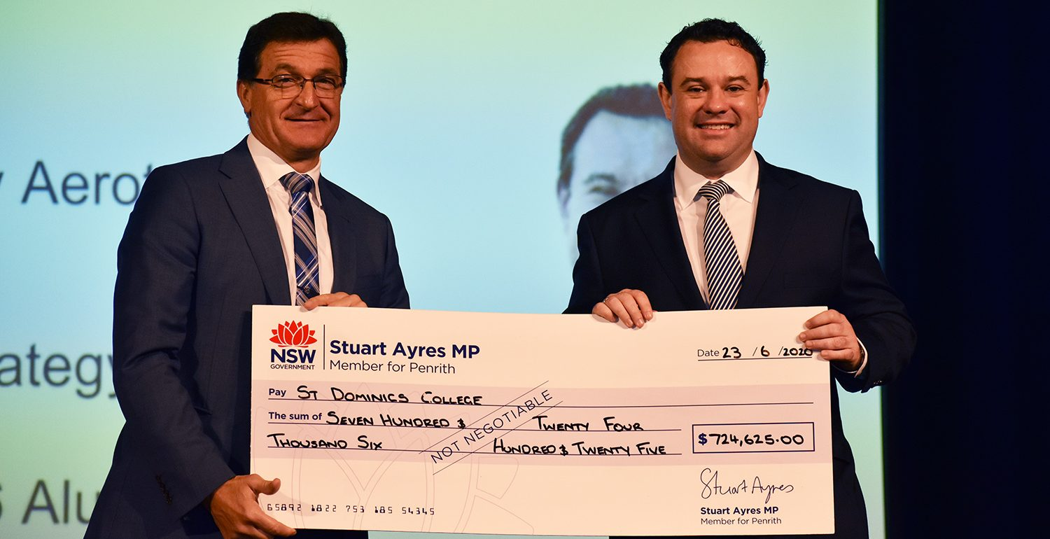 St Dominic's College Receives NSW Government Grant for College Upgrades