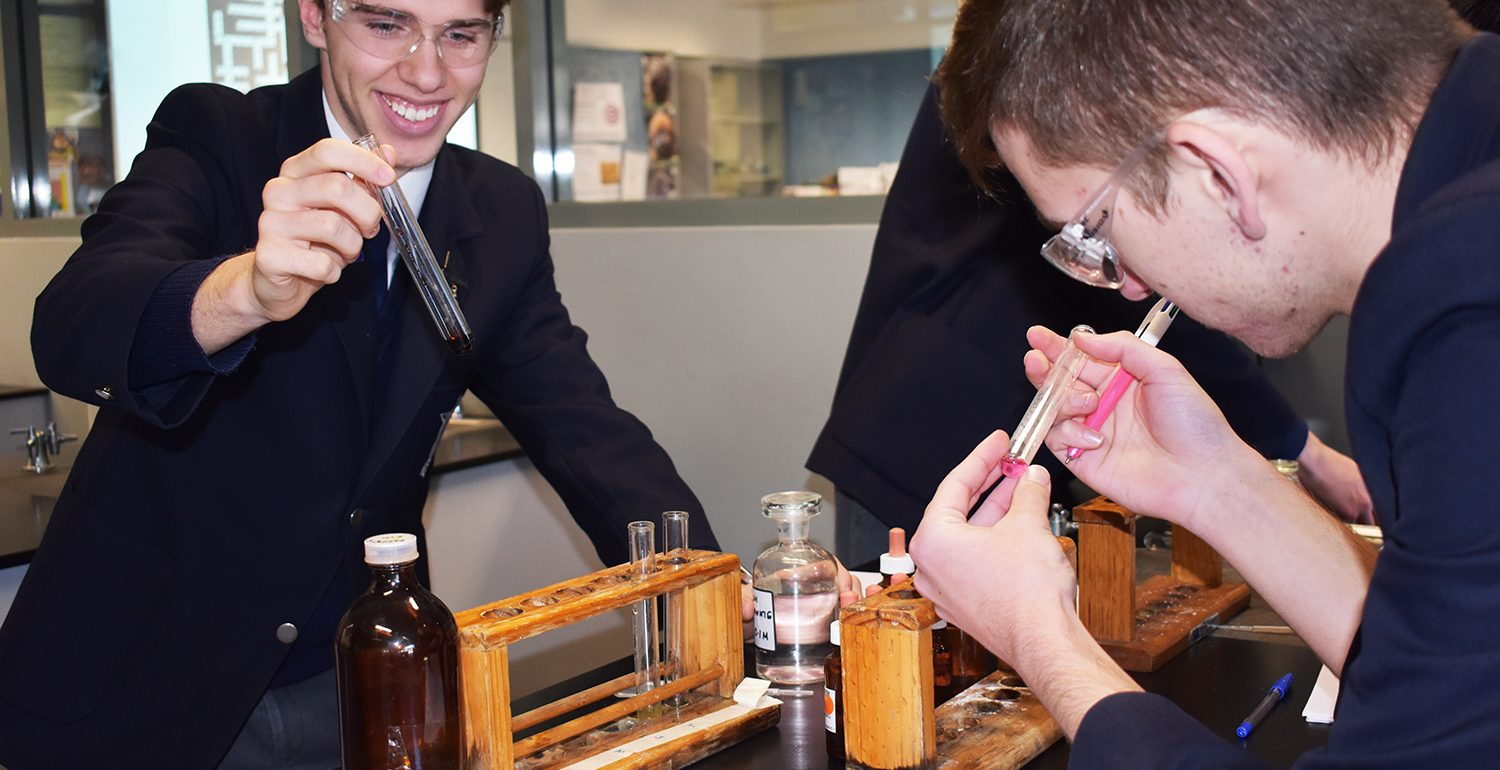 Science Students Enjoying Practical Lessons