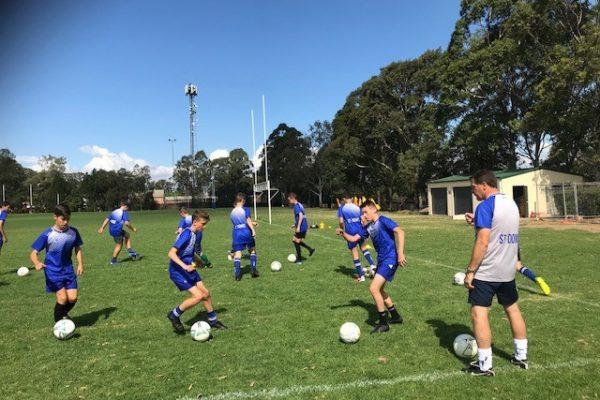 Year 8 Soccer Training Program