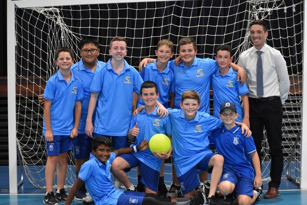 Surawski Win 2021 Year 7 Futsal House Cup