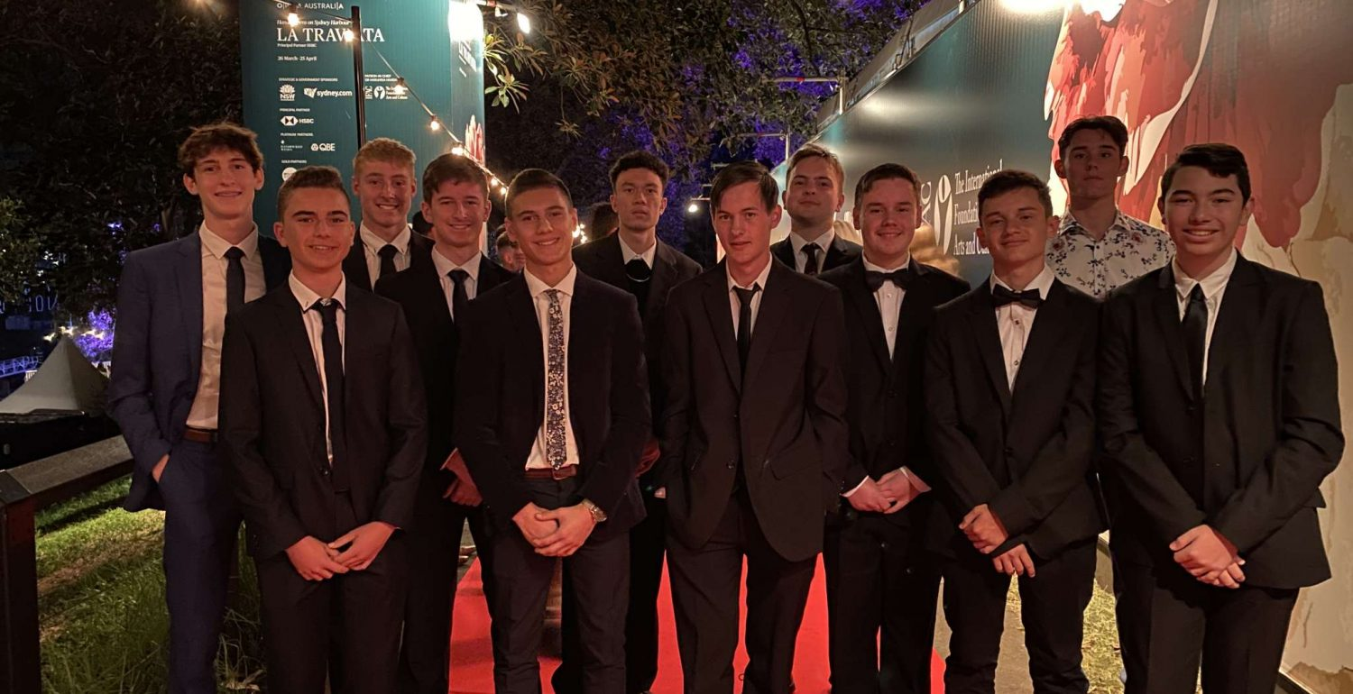 Italian Students Enjoy a Night at the Opera